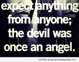 angel and devil quote