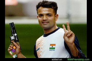 Vijay Kumar Indian Shooter Olympics Silver Medalist