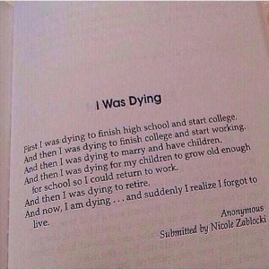 Was Dying poem | stuff | Pinterest