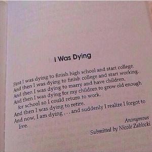 Was Dying poem | stuff | Pinterest