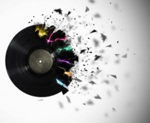 Vinyl LP records in media break easily if thrown or manhandled. When ...