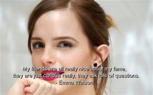 Anj's Angels ~♥ Emma Watson Quotes♥~