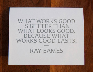 Ray Eames Quote
