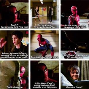 The Amazing Spider-Man quotes