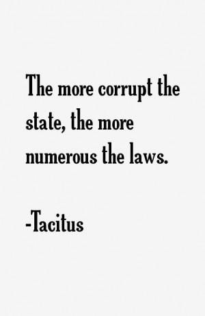 Tacitus Quotes & Sayings