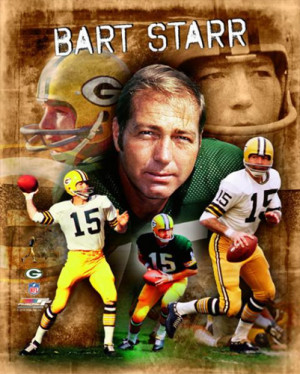 Bart Starr THE LEGEND Green Bay Packers NFL Poster Print - Photofile ...