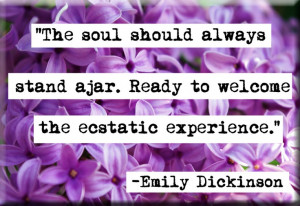 Emily Dickinson Quotes On Writing | Emily Dickinson Quote Magnet no142 ...