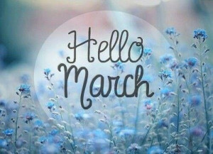 quote #march #month #hello