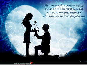 Couple, guy giving rose flower to girl - Romantic Love wallpapers for ...