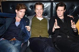 Harry Treadaway, Benedict, Cumberbatch, and MattSmith