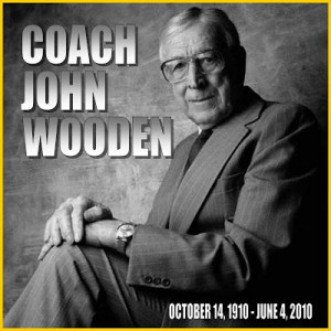 Coach Wooden site with tribute message from Bill Walton: