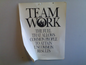 Teamwork Means We Believe In Each Other - Teamwork Quotes