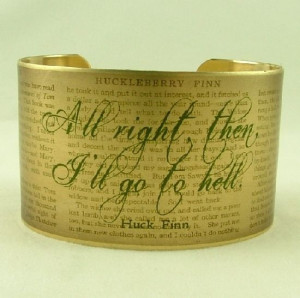 Quote from Huck Finn (irony)
