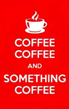 Coffee Coffee ☕Coffee♥Craft☕ Coffee art