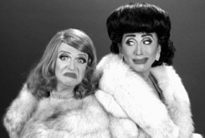 Graham as Bette Davis & Roy Haylock (Bianca Del Rio) as Joan Crawford ...