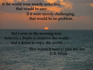 Seductive Quotes And Sayings: If The World Were Merely Seductive Quote ...