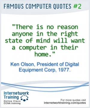 Quotes: Computers in the home...