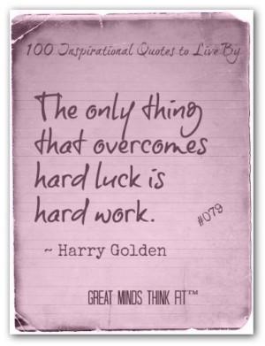 Harry Golden Quote #079