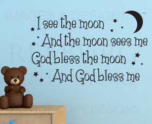 Details about Wall Quote Decal Sticker Vinyl Art Lettering God bless ...