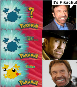Who's that pokemon? with Chuck Norris