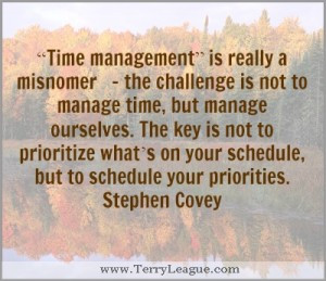 love this quote about time management because it makes us take a ...