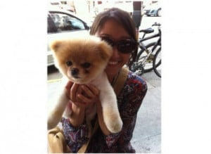 This is Irene Ahn, the woman who owns Boo. She is a finance lead at ...