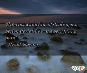 Quotes about Accusing