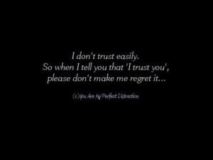 damon, quotes, regret, trust, typography