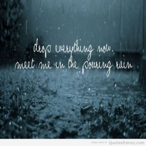 Quotes and Sayings About Rain
