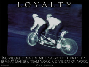 Loyalty: Quotes