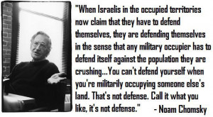 more read noam chomsky my visit to gaza the world s largest open air ...