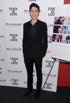 Ansel Elgort supports TFIOS Director Josh Boone at Stuck in Love ...