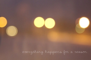 bokeh, light, lights, pretty, quote, quotes, reason, typography ...