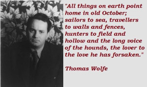 Thomas wolfe famous quotes 2