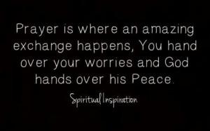 God has it under control.