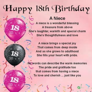 Posts related to Happy birthday to my niece