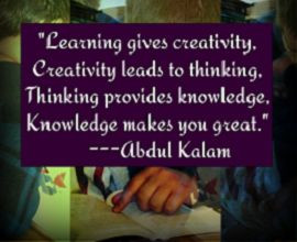 Learning quote from teacher1stop.com