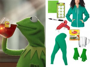 Here's The Truth Tea Kermit Meme Costume You Need For Halloween - MTV