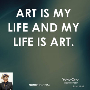 Photos of Quote About Life And Art