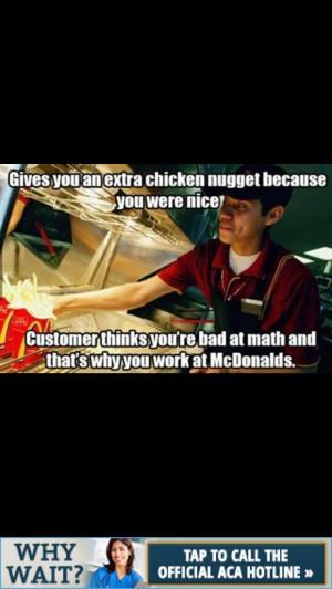 Fast food blah