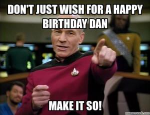 Happy birthday Dan! Jan 06 16:24 UTC 2014