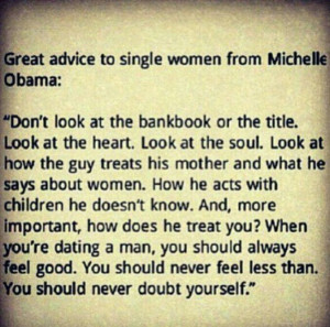 this! My mom always told me to find a guy who treats his mother like ...