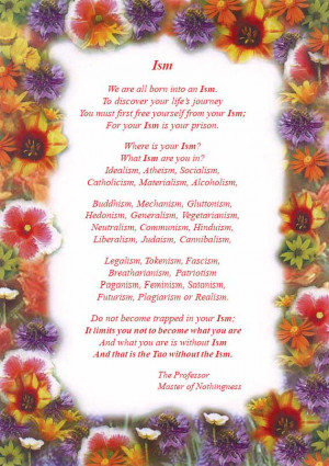 Poem excerpts from over a hundred themes and feelings on the Tao.