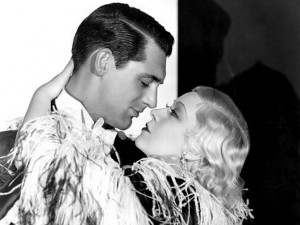 """Cary Grant and Mae West in """"I'm No Angel"""" (1933)"""