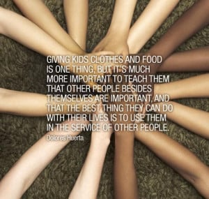 Dolores Huerta #quote -- #Giving