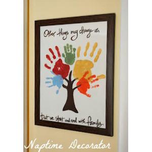 10 Easy Handprint Crafts for Kids - Grandparents.com