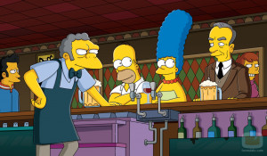Bar de Moe de 'Los Simpson'