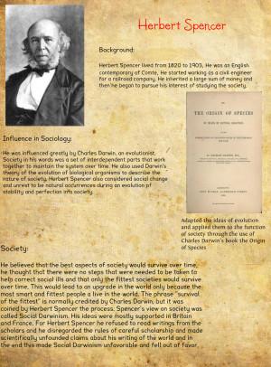 Herbert Spencer- Hailee Watkins