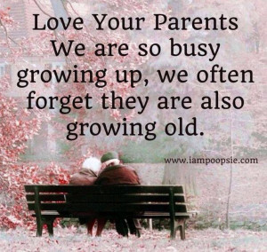 Parents growing older