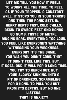 Anxiety, Panic Attacks, Depression, Mental Health quotes More